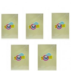 Classmate A4 size canary colour sheets - 5 packs