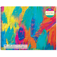 Navneet Premium Drawing Book Wiro Bound - 27cm x 35cm - 60 pages (Pack of 2)