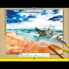 Navneet Drawing Clip Board - 43 cm x 33 cm