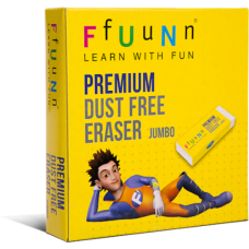 FUN Premium Dust Free Erasers Jumbo Pack of 20