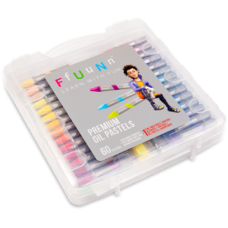 FUN Premium Oil Pastels - Pack of 60 Shades