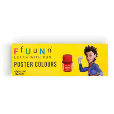 FUN Poster Colours - Pack of 12