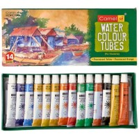 Camel water colours tubes 14 shades