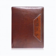 Brown Leather Executive Diary (18x24.5 cm)