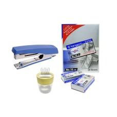 Combo - Stapler 10-D, Stapler Pins & Pin-O-Clip
