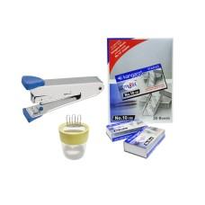 Combo - Stapler 10-R, Stapler Pins & Pin-O-Clip