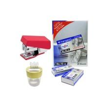 Combo - Stapler M-10, Stapler Pins & Pin-O-Clip