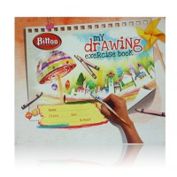 Bittoo Drawing File Big (28 pages) - Pack of 5