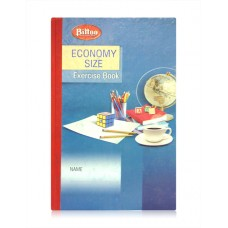 Bittoo Economy Size Hardbound Register (192 Pages) - Pack of 3
