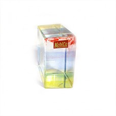 Kebica Crystal Cuboid Paper Weight