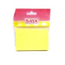 Saya Sticky Notepads (50 x 76 mm) - pack of 10