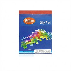 Bittoo Slip writing Pad No. 11 (80 sheets) - Pack of 5