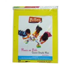 Bittoo Plain large drawing sheets (20) - 5 Packs