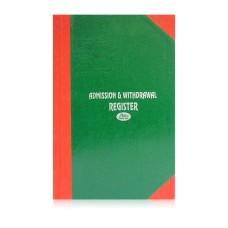 Admission Register 4 quire (21.3 cm x 38.3 cm x 1.5 cm)