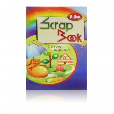 Bittoo Scrap Book with Plain Coloured (36) Pages - Pack of 3