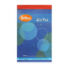 Bittoo Slip writing Pad No. 22 (80 Sheets) - Pack of 5