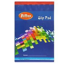 Bittoo Slip writing Pad No. 33 (80 Sheets) - Pack of 5