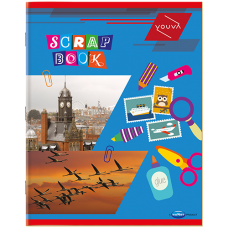 Youva-Navneet Scrap Book Soft Bound - 22 cm x 28 cm - 64 Pages (Set of 3)