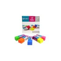 Apsara Coloured Erasers-20 pcs