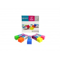 Apsara Coloured Erasers-20 pcs