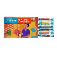 Apsara Wax Crayons - 24 shades (Pack of 5)