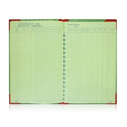 attendance register big 20 x 32 5 cm 95 pages
