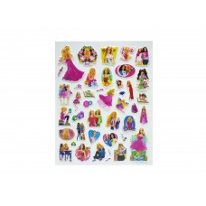Barbie Puffy Stickers - 5 packs