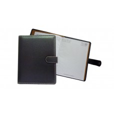 Black Leather Magnetic 2017 Planner (N1)