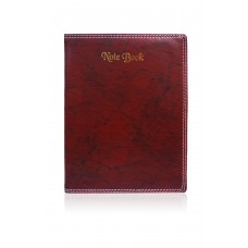 Brown covered Notebook (24.6 x 18.8 cm)
