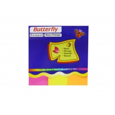 Butterfly Post-it Color Flag (Pack of 4)