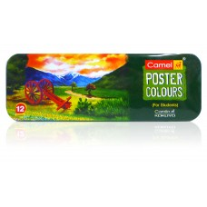 Camlin Poster Colours - 12 Shades