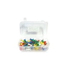 Cap push pins - 5 packs