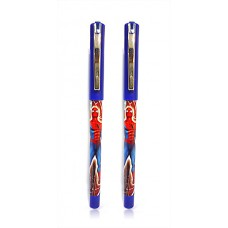 Cello ball pen & gel pen gift set With imprint of Marvel Spiderman (5 sets)