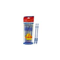 Cello Gripper Comfi-Tip Ball Pen-Pack of 5 Pens (3 packs)