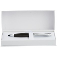 Cross - Calais Chrome/Black Ball Point Pen (AT0112-2)