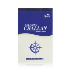 Delivery Challan (14.1 cm x 21.9 cm) 50 sheets- Pack of 5