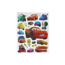 Disney Cars Puffy Stickers - 5 packs