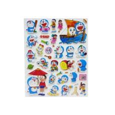 Doraemon Puffy Stickers - 5 packs