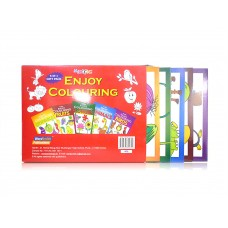 5-in-1 Colouring books pack