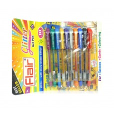 Flair Glitter Pens 10 shades