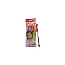 Flair Hydra Gel Ball Pen-Red-Pack of 5 pens (5 Packs)