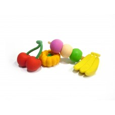 Fruit Erasers - 5 packs