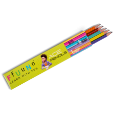 FUN Ace Pencils - Pack of 10 (5 Packs)