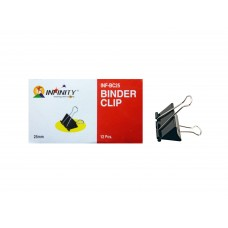 Infinity Binder Clips 25mm (5 Boxes)