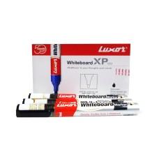 Luxor Whiteboard Marker - Black (Pack of 10)