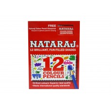 Nataraj Pencil Colours (12 Shades) - 5 Packs