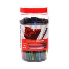 Nataraj Classic, Glow and Mist Pens Combo - Jar of 100