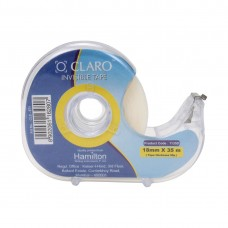 O Claro invisible tape 18mm X 35 mm - pack of 3