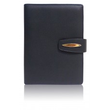 Planner - Black with Magnetic Lock (24 x 19.4 cm)