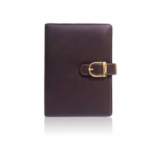 Planner- Brown Small Buckle Lock (20.4 x 17 cm)